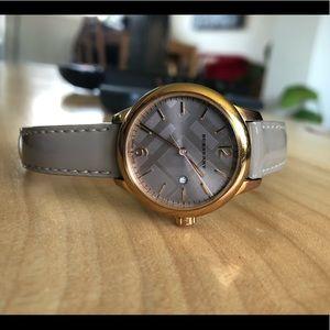 Elegant Burberry Watch